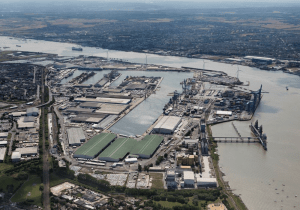 """The Port of Tilbury scooped the inaugural National Infrastructure Planning Association Award for """"Best Project"""" at the organisation's awards celebration"""